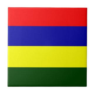 マリシャスの旗 タイル