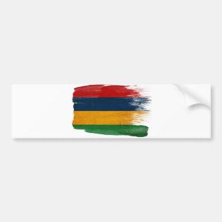 マリシャスの旗 バンパーステッカー