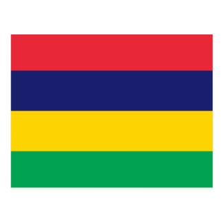 マリシャスの旗 ポストカード