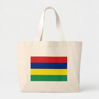 マリシャスの旗 ラージトートバッグ