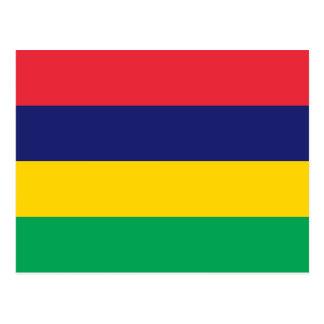 マリシャスの旗 葉書き