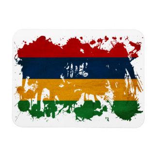 マリシャスの旗 長方形磁石