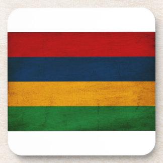 マリシャスの旗 飲み物コースター