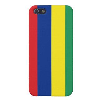 マリシャスの旗 iPhone SE/5/5sケース