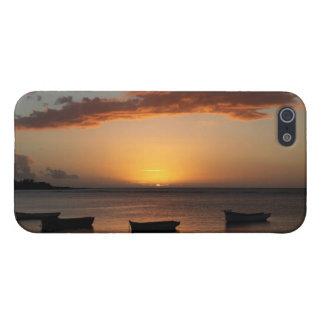 マリシャスの日没 iPhone 5 COVER