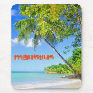 マリシャスの熱帯島 マウスパッド