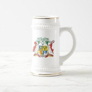 マリシャスの紋章付き外衣 ビールジョッキ