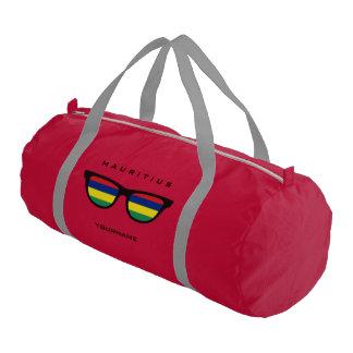 マリシャスはカスタムなduffleバッグを影で覆います ジムバッグ