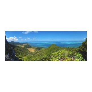 マリシャスアフリカの東海岸の島 キャンバスプリント