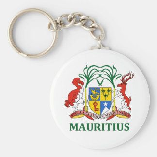 マリシャス-または記号紋章か旗または紋章付き外衣 キーホルダー