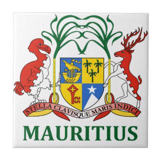 マリシャス-または記号紋章か旗または紋章付き外衣 タイル