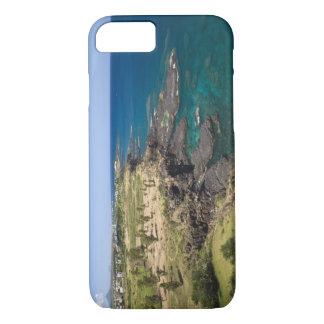 マリシャス、西部のマリシャスの美女Vueの海 iPhone 8/7ケース