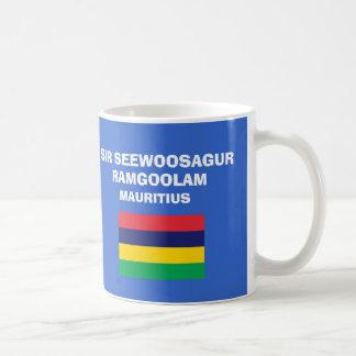 マリシャス- MRUの国際空港 コーヒーマグカップ