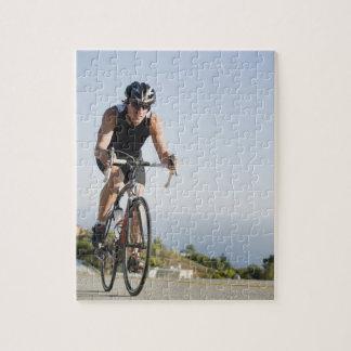 マリブのサイクリストの道の乗馬 ジグソーパズル