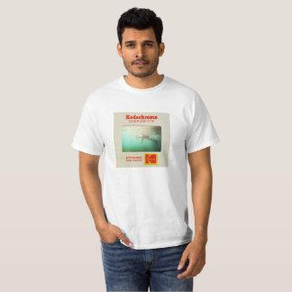 マリブの青のスライド Tシャツ