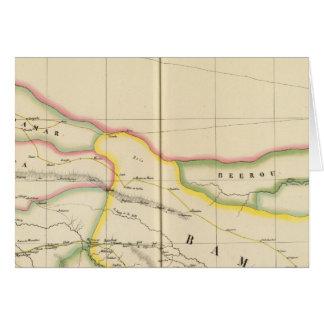 マリモーリタニアおよびBurkina、アフリカ カード