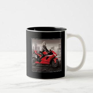 マリリンのオートバイ ツートーンマグカップ