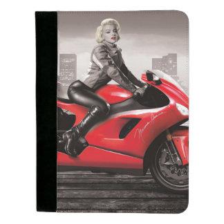 マリリンのオートバイ パッドフォリオ