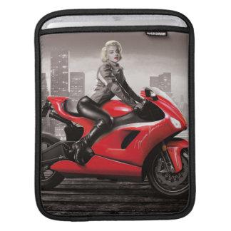 マリリンのオートバイ iPadスリーブ