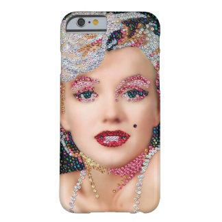 マリリンのスパンコールがついたIPhone6ケース iPhone 6 ベアリーゼアケース