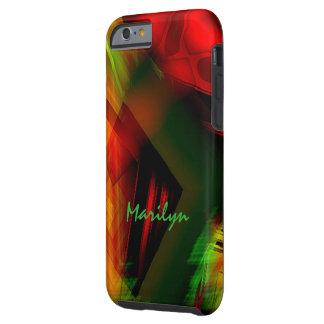 マリリンの新しい着色されたモデルiPhoneの場合 ケース