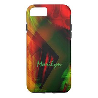 マリリンの新しい着色されたモデルiPhoneの場合 iPhone 8/7ケース