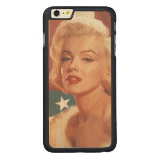 マリリンの旗 CarvedメープルiPhone 6 PLUS スリムケース