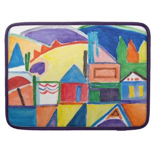 """マリリンHolmesのファインアート""""メイン・ストリート"""" MacBook Proスリーブ"""