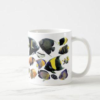 マリン・エンゼルフィッシュのマグカップ コーヒーマグカップ