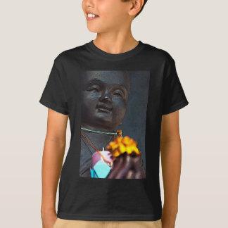 マリーゴールドの提供を用いるJizo仏 Tシャツ
