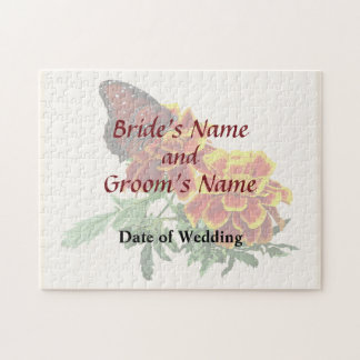マリーゴールドの結婚式プロダクトの女王の蝶 ジグソーパズル