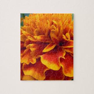 マリーゴールドの花びら ジグソーパズル