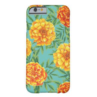 マリーゴールドの花模様 BARELY THERE iPhone 6 ケース