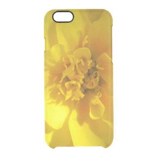 マリーゴールドの金黄色 クリアiPhone 6/6Sケース