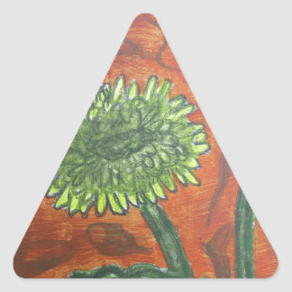 マリーゴールド 三角形シール