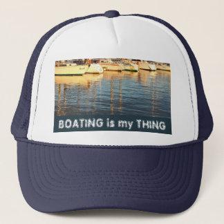 マリーナのボート キャップ