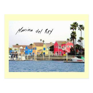 マリーナ・デル・レイの郵便はがき ポストカード