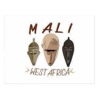 マリWesrアフリカ ポストカード