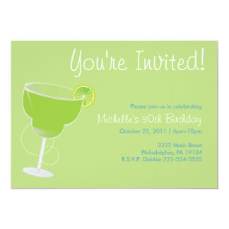 マルガリータのパーティの招待状 カード