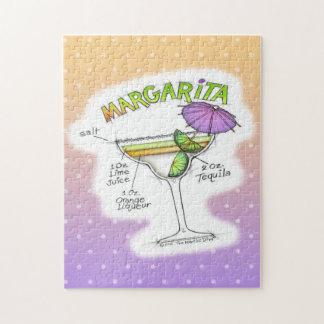 マルガリータのレシピのカクテルの芸術 ジグソーパズル