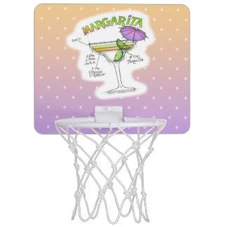 マルガリータのレシピのカクテルの芸術 ミニバスケットボールゴール