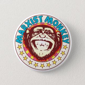 マルクス主義猿 5.7CM 丸型バッジ