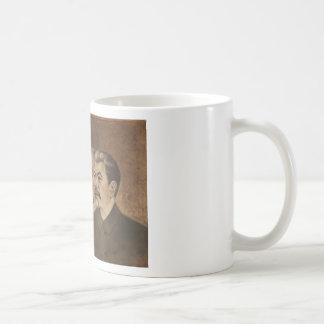 マルクス、エンゲルス、レーニンおよびスターリン コーヒーマグカップ