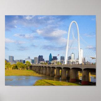マルグレットの狩り橋、ダラス、テキサス州 ポスター