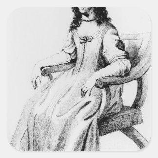 、マルグレットCavendishニューキャッスルの公爵夫人 スクエアシール