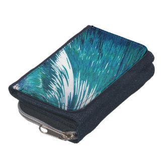 マルグレットJuul著大きい波のサーファーのデニムの財布