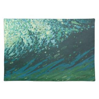 マルグレットJuul著沿岸海洋波のランチョンマット ランチョンマット