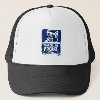 マルケルスの誇りを持ったな帽子の青 キャップ