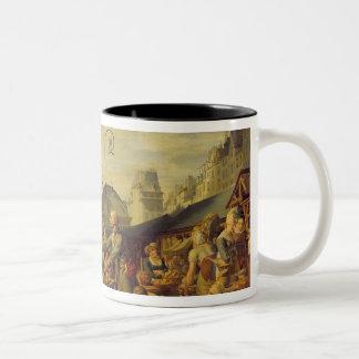 マルケdesの潔白な人、c.1814 ツートーンマグカップ