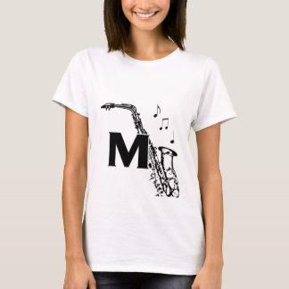 マルコスのサクソフォーンスパゲッティ上 Tシャツ